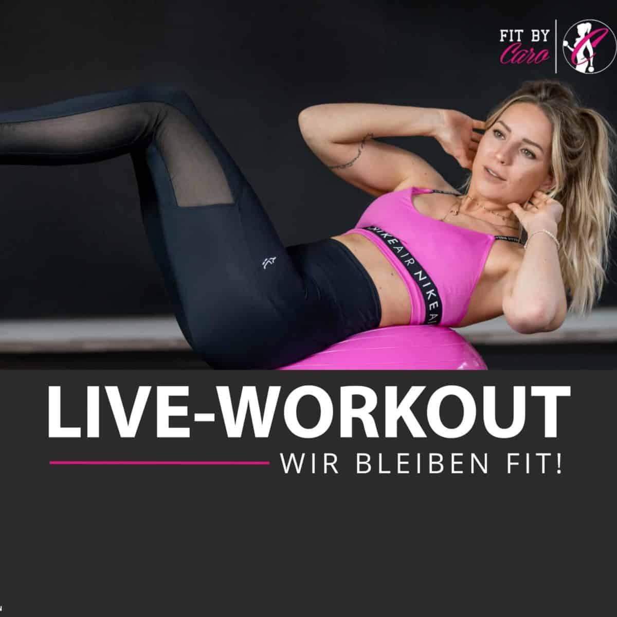 Fitbycaro Workout-Übung